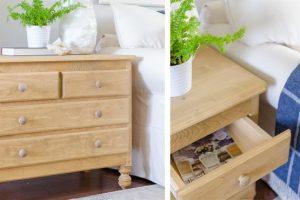 Vintage Inspired Pine Dresser