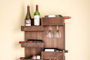 Wall Mounted Wine Bar