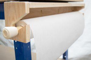Workbench Paper Roll Dispenser