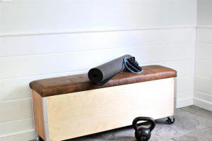 Workout Bench with Storage