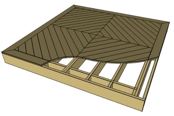 Dress up your deck with patterned decking