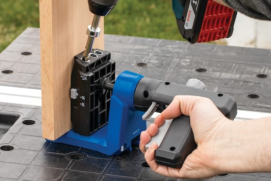 Get to know the Kreg Pocket-Hole Jig 520PRO