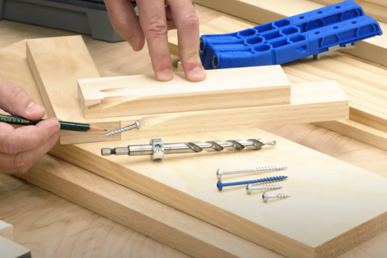 Why material thickness matters for creating perfect pocket-hole projects